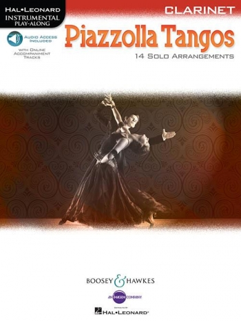 Piazzolla Tangos Clarinet: 14 Solo Arrangements Book  Book & Audio Download