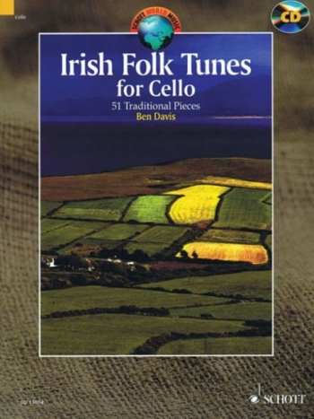Irish Folk Tunes: 51 Traditional Pieces Cello: Book & Cd (Davis)