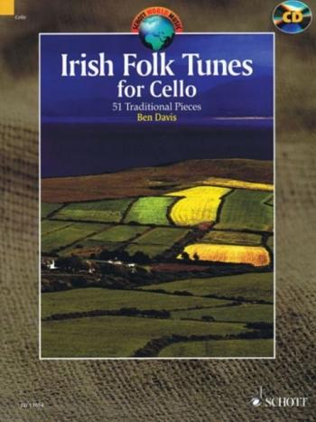 Irish Folk Tunes: 51 Traditional Pieces Cello: Book & Cd (Davis)