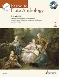 Baroque Flute Anthology Vol 2: 25 Works  Book & Cd (Schott)