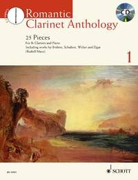 Romantic Clarinet Anthology Vol 1: 25 Pieces For Clarinet And Piano (Mauz