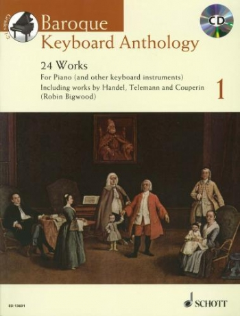 Baroque Keyboard Anthology: 24 Works For Piano Book & CD