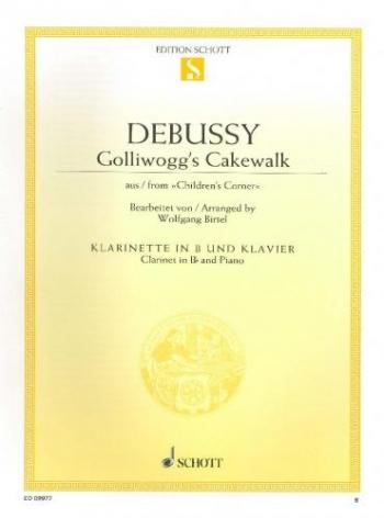 Golliwogs Cakewalk: Clarinet & Piano (Schott)