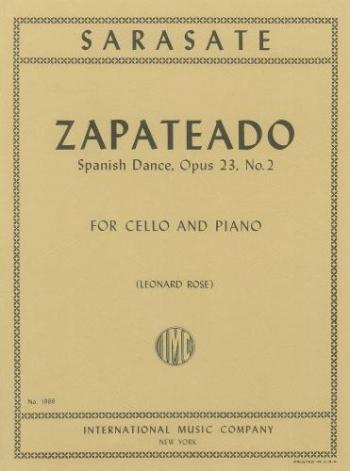 Zapateado: Op23 No2: Cello And Piano (International)