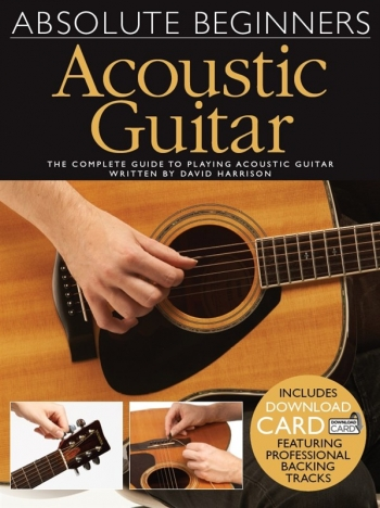 Absolute Beginners Acoustic Guitar: Book & Download Card