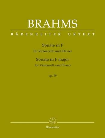 Sonata F Major Op.99: Cello & Piano (Barenreiter)