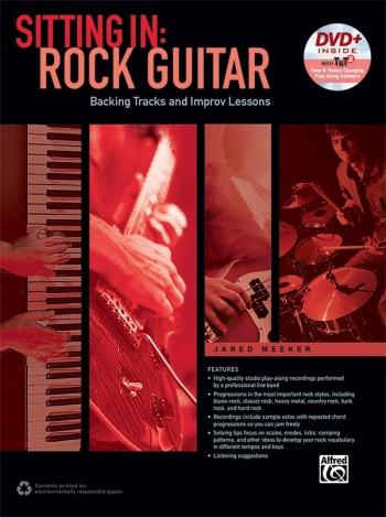 Sitting In: Rock Guitar: Book & DVD-ROM Jared Meeker