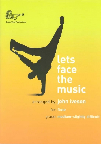 Lets Face The Music: Flute & Piano Book & CD (Iveson)