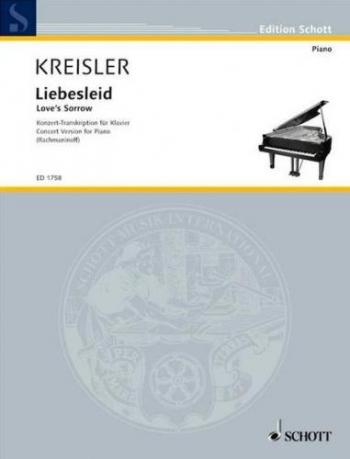 Alt-Wiener Tanzweisen No. 2 Liebesleid Piano (Schott)