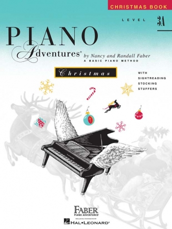 Piano Adventures: Christmas Book: Level 3A