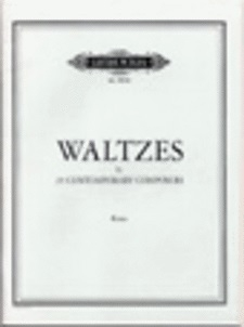 25 Waltzes By Contemporary American Composers: Piano