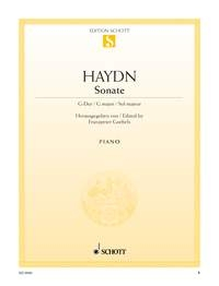 Sonata: G Major: XVI:27 Xvi: 52:  Piano  (Goebels)