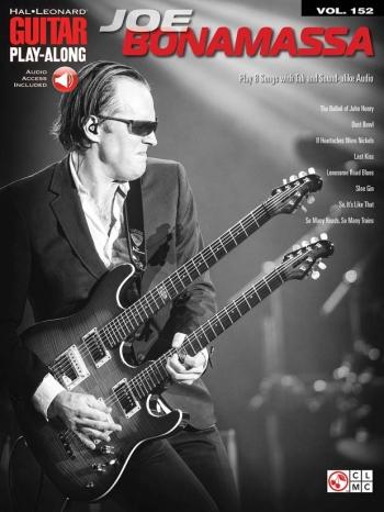 Guitar Play Along Series: Vo152: Joe Bonamassa: Acoustic Guitar: Book & Audio Access