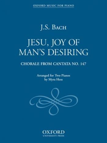 Jesu Joy Of Mans Desiring: 2 Pianos Arr Hess (OUP)