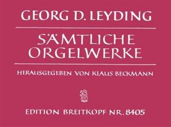 Sämtliche Orgelwerke Organ Works (Breitkopf)