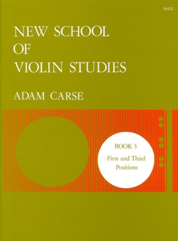 New School Of Violin Studies Book 3 (First & Third Position)