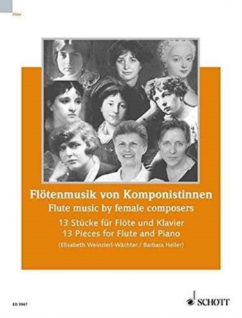 Flute Music By Female Composers: 13 Pieces For Flute & Piano (Schott)