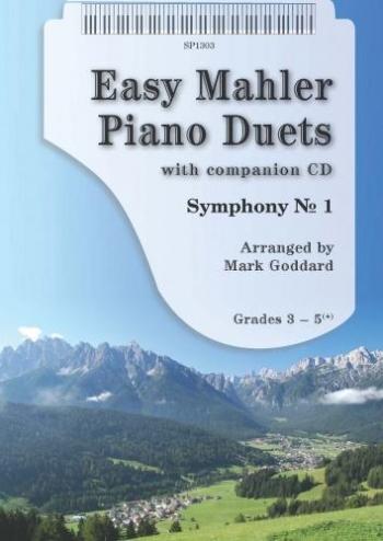 Easy Mahler Duets: Piano Duet: Gr 3-5+: Bk&cd