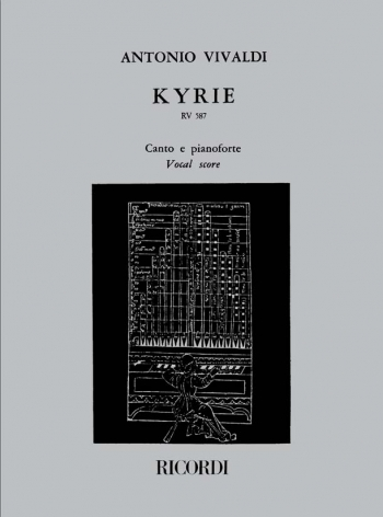 Kyrie: Rv587: Vocal Score (Ricordi)