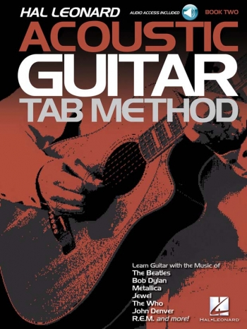 Hal Leonard Acoustic Guitar Tab Method – Book 2 (Book/Online Audio)