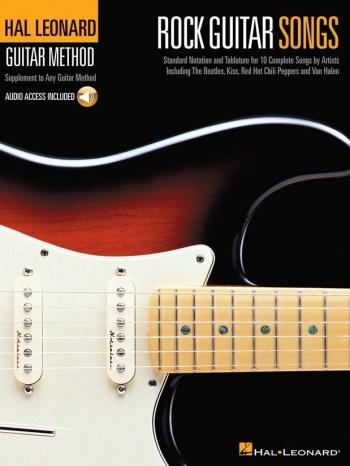Hal Leonard Guitar Method: Rock Guitar Songs Book & CD