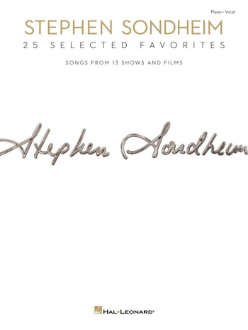 Sondheim: 25 Selected Favorites Piano And Vocal