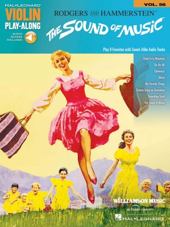 Violin Play-Along Volume 56: The Sound Of Music Book & Audio Download