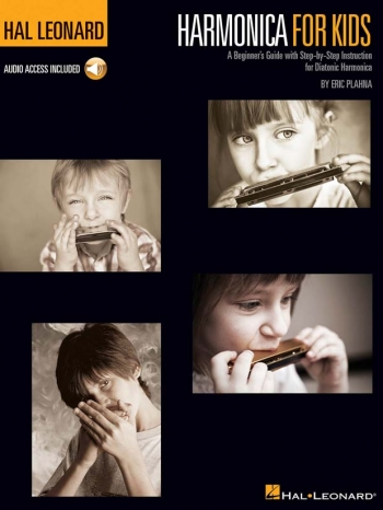 Harmonica For Kids: A Beginner's Guide With Step-by-Step Instruction For Diatonic Harmonica (Book/On