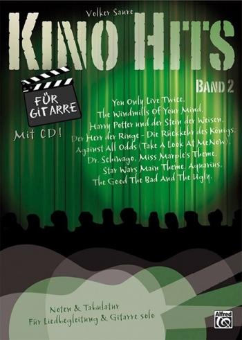 Kino Hits Vol 2 For Guitar  Book & CD  Guitar & Tab