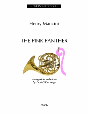 Pink Panther For Solo French Horn (arr Zsolt Gabor Nagy) Emerson