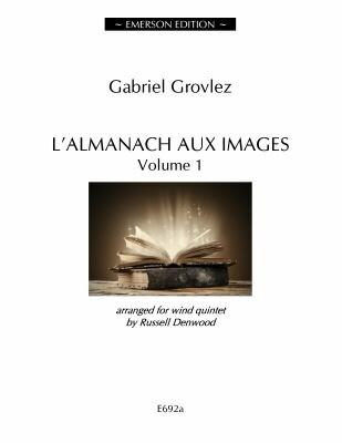 L'Almanach Aux Images Vol 1 Wind Quintet Score & Parts Arr Denwood (Emerson)
