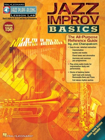 Jazz Play-Along Volume 150: Jazz Improv Basics Book & CD