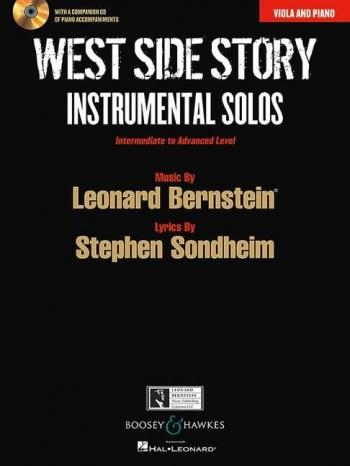 West Side Story For Viola: Book And Cd