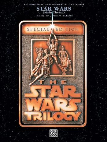 Star Wars - Main Theme - Piano - Big Note Arrangment Dan Coates