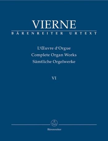 Complete Organ Works: Vol 6: Sixth Symphony Op. 59 Organ (Barenreiter)