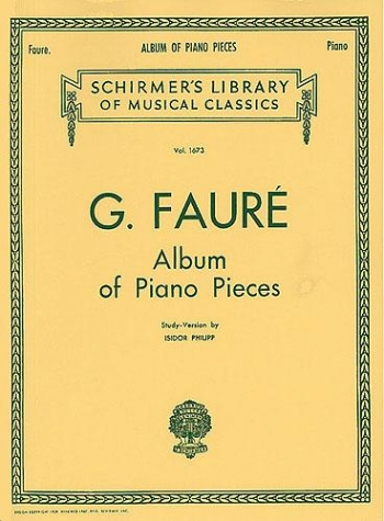 Album Of Piano Pieces (Schirmer)