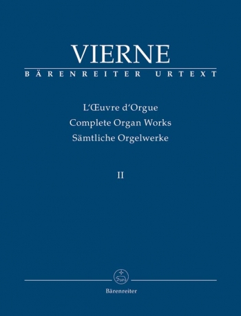 Complete Organ Works Vol 3  (Barenreiter)