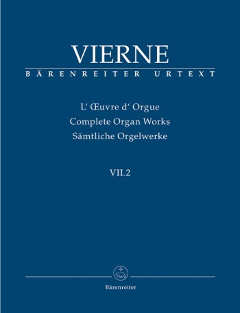 Complete Organ Works Vol 7/2  (Barenreiter)