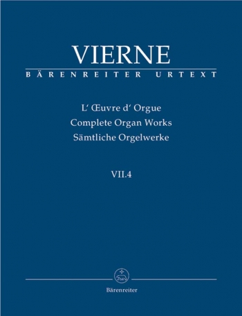 Complete Organ Works Vol 7/4  (Barenreiter)