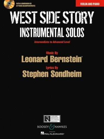 West Side Story For Violin: Book And Cd (Boosey & Hawkes)