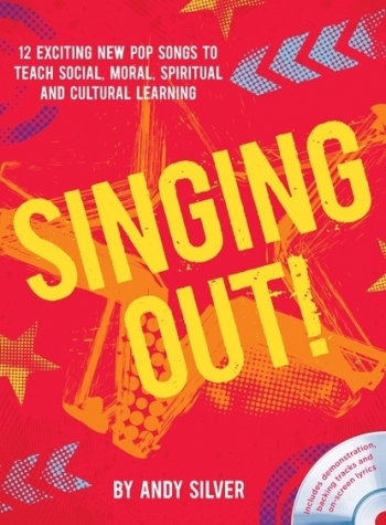 Singing Out: 12 Exciting New Pop Songs  Book & DVD  Andy Silver (A & C Black)