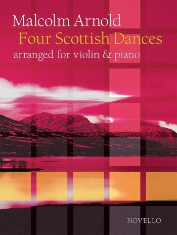 Four Scottish Dances Op.59 (Violin/Piano) (Novello)