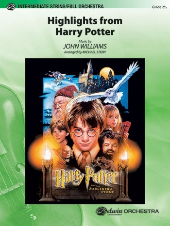 Harry Potter: Highlights From Score & Parts: Orchestra (john Williams Arr Story)