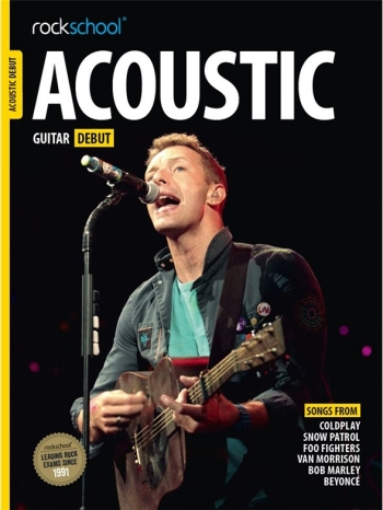 Rockschool Acoustic Guitar Debut (2016) Book & Online Audio