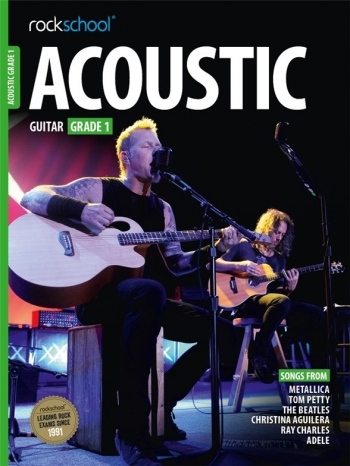 Rockschool Acoustic Guitar 1 (2016+) Book & Online Audio