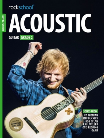 Rockschool Acoustic Guitar 2 (2016+) Book & Online Audio