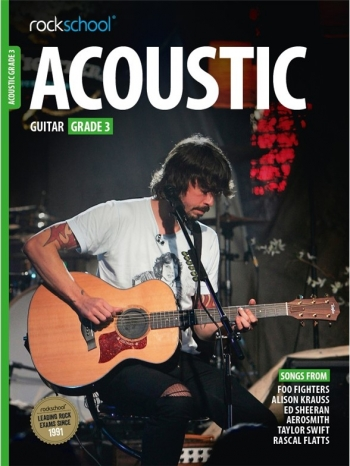 Rockschool Acoustic Guitar 3 (2016) Book & Online Audio