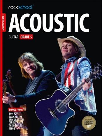 Rockschool Acoustic Guitar 5 (2016+) Book & Online Audio