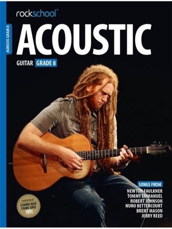 Rockschool Acoustic Guitar 8 (2016+) Book & Online Audio