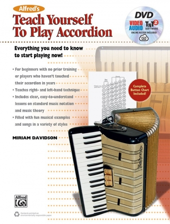 Teach Yourself To Play Accordion: Book & DVD (davidson)